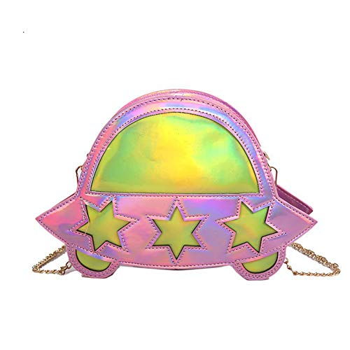 Small Bag Crossbody Universe Qiulv Lady Pink Alien Fashion Bag UFO Tote Shoulder Unique Shaped qFw6zt