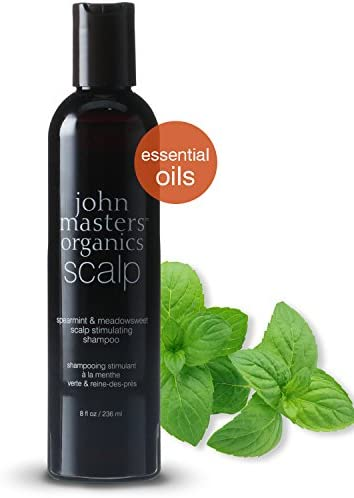 John Masters Organics - menta verde y; Meadowsweet Scalp Champú ...