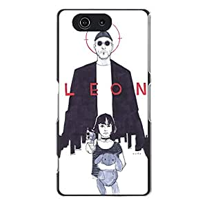 Common Official Leon-The Professional Element back cover case Plastic TPU PC for Sony Xperia Z3 Compact (Z3 mini)