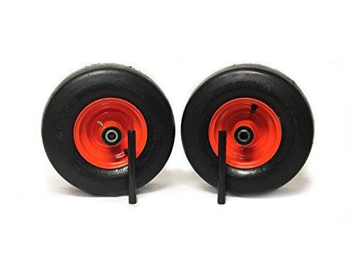 - MowerPartsGroup (2) Kubota Pneumatic Wheel Assemblies 15x6.00-6 Fits ZD321, ZD323, ZD326, ZD331