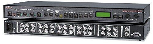 Picture Processor - Extron PIP 444 Picture-in-Picture Processor w/ 4 SVHSF-BNCM Adapters & RGB