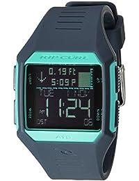 'Maui' Quartz Plastic and Polyurethane Sport Watch, Color Blue (Model: A1126G-SLT)