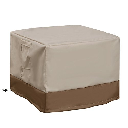 Waterproof Outdoor Air conditional Cover Square Furniture Protection (Cover Air Conditioner Decorative)