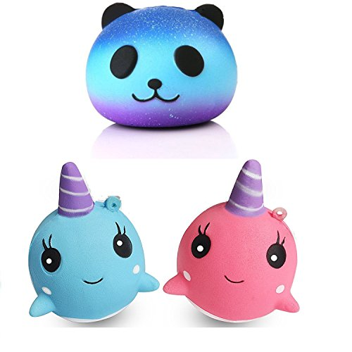 Squishy Toy Slow Rising Squishies Jumbo Panda Unicorn Scented Squeeze Easter Stress Relief Toy