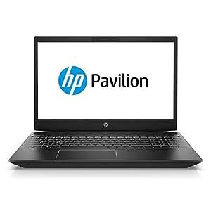 HP Pavilion Gaming 15-cx0043ne 15.6 inches LED Laptop, Intel i5-8300H 2.3 GHz, 16 GB RAM, 1 TB HDD + 256 GB SSD, Nvidia GeForce GTX 1050Ti - 4GB Graphics, Windows 10, Eng-Ara KB - Black