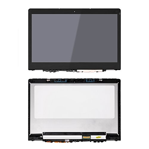 LCDOLED Compatible 11.6'' N116HSE-EBC FullHD 1080P LCD Display Touch Screen Digitizer Assembly + Bezel Replacement for Lenovo Yoga 710 710-11ISK 710-11IKB 80TX 80V6 80TX0007US 80V6000PUS 80TX0007US by LCDOLED (Image #4)