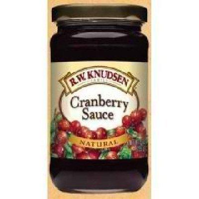Family Knudsen Cranberry (R.W. Knudsen Family Cranberry Sauce 12x 10OZ by R.W. Knudsen)