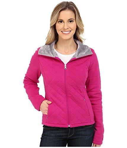 una Crop Jacket Fuchsia Pink Women's Coat ()