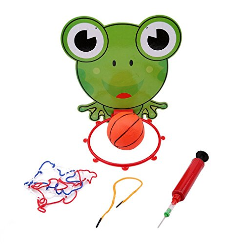 Basketball Toy Hoop Portable Set Sports and Outdoor Hanging Ball Basket Indoor Goal Mayshow Wall Hoop Collapsible frog Mounted Baketball Kids for Mini 5gYxn54
