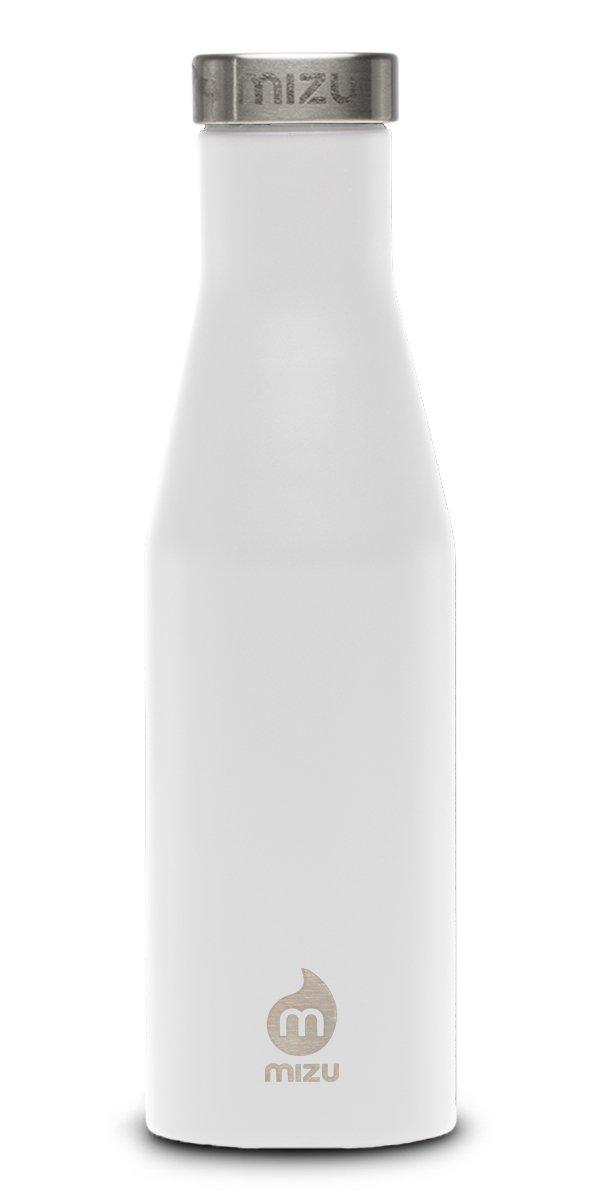 Mizu Life Botella, S6 Botella, Life Color Enduro Blanco, tamaño 600 ML, 0.2 664516
