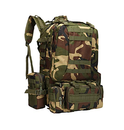 Camouflage Tactical Multi Camping Cp Mountaineering functional Capacity Combination Backpack Military Large Conglinmicai fcwc614qZ