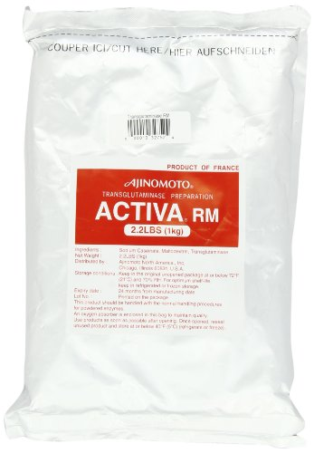 Ajinomoto Activa RM (Transglutaminase Meat Glue), 2.2-Pound Bag