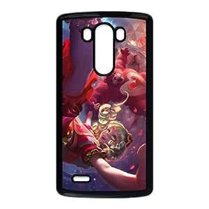 LG G3 Cell Phone Case Black League of Legends Sweetheart Annie Qksr