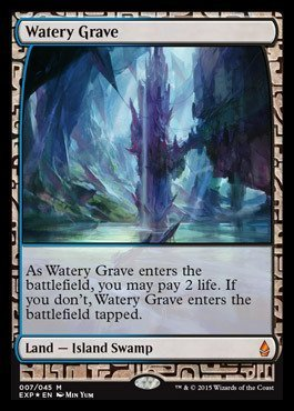 salida de fábrica Magic  the Gathering - - - Watery Grave (007 045) - Battle for Zendikar - Expeditions - Foil by Wizards of the Coast  tienda de venta en línea