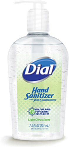 Dial Hand Sanitizer Light Citrus Scent 7.50 oz ()