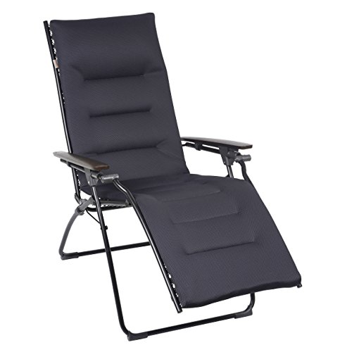 Lafuma Evolution Air Comfort Zero Gravity Chair, Black St...