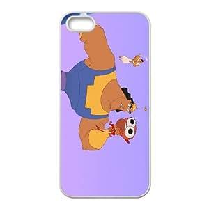 iPhone 5 5s Cell Phone Case White Disney The Emperor's New Groove Character Kronk Pepikrankenitz Viwbz