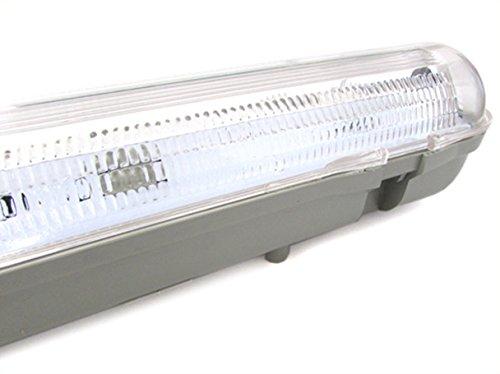 Plafoniere Per Interni Auto : Plafoniera stagna singolo tubo led t cm impermeabile ip