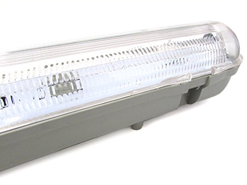 Plafoniera A Led Da 150 Cm : Plafoniera stagna singolo tubo led t8 150cm impermeabile ip65
