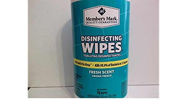 Amazon.com: Members Mark 78 CtFresh Scent.Disinfecting Wipes: Kitchen & Dining