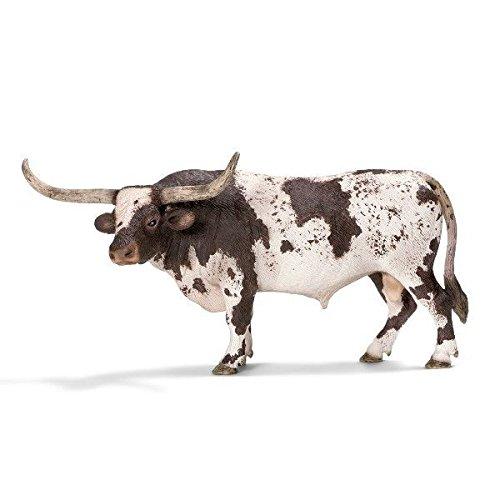 Cattle Cow Bull - Schleich Texas Longhorn Bull Toy Figure