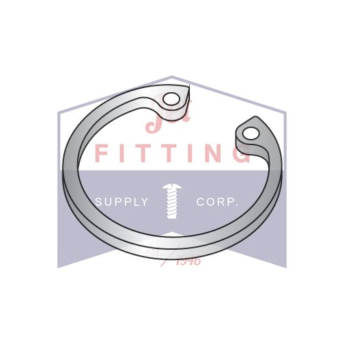 1.938 Internal Style Retaining Rings | Stainless Steel (QUANTITY: 100) by Jet Fitting & Supply Corp