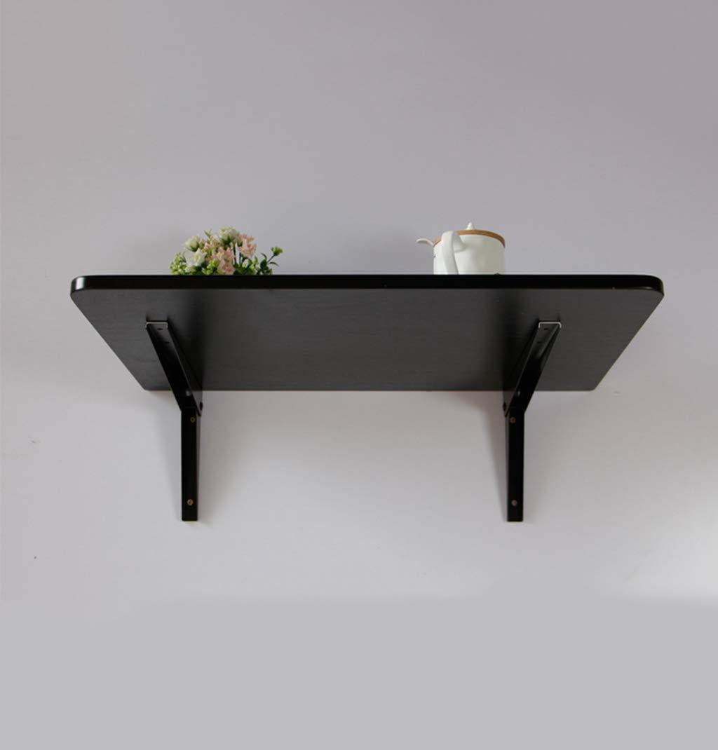 Amazon.com: Mesa plegable de pared con 2 soportes de metal ...
