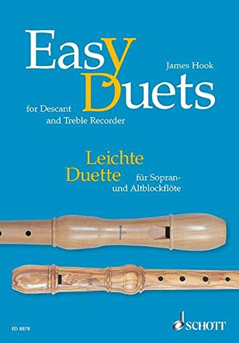 Leichte Duette für Sopran und Altblöckflöte