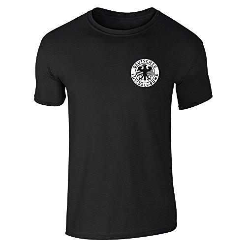 Germany Soccer Futbol Retro Vintage National Team Black M Short Sleeve T-Shirt