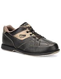 Storm Mens Taren Bowling Shoes Right Hand- Black/Bronze