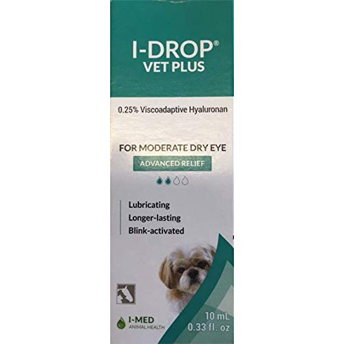 I-Med Pharma I Drop Vet Plus Eye Lubricant - Multidose Bottle - 10 Ml. by (10 Ml.)