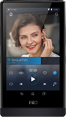 FiiO X7 Android Smart Portable Music Player, 3.97' Touchscreen, 32GB ROM, 1GB RAM, Body Only