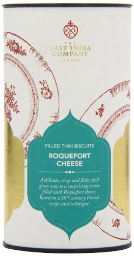 (The East India Company Roquefort Cheese Filled Biscuits 125 g)