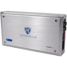 Rockville RXM-T2 2400 Watt 2-Channel Amplifier Amp For Polaris RZR/ATV/UTV/Cart