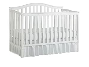 Nursery 101 Sidney Convertible Crib, White (Discontinued by Manufacturer)