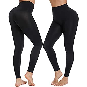 Amazon.com: Shapewear Leggings Stretch High Waisted Power