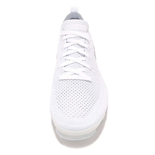 White Football 001 Ginnastica 2 Uomo Vapormax NIKE White Grey Scarpe Multicolore Grey Basse Flyknit da Vast Air Y6fqaxqwP