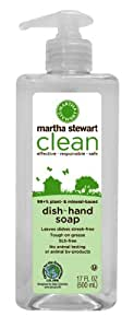 Martha Stewart Clean Dish/Hand Soap, 17 oz. ( Pack of 6 )