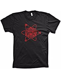 D20 Atom Shirt Funny Tshirts Dice Game Shirt Board Games