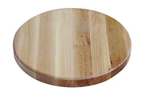 (Wood Welded Maple Edge Grain Reversible Butcher Block Cutting Board (12