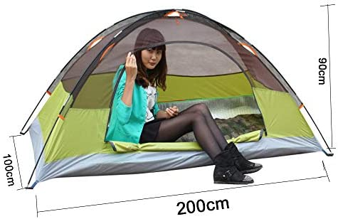 LAL6 Carpa Ultraligera Carpa Impermeable al Aire Libre, Doble y Doble Camping, Playa, Pesca, Carpa Transpirable