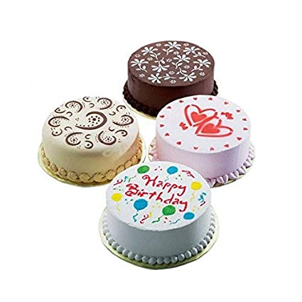 Magnificent Buy Okayji Birthday Cake Soup Mold Cupcake 4 Styles Flower Heart Funny Birthday Cards Online Eattedamsfinfo