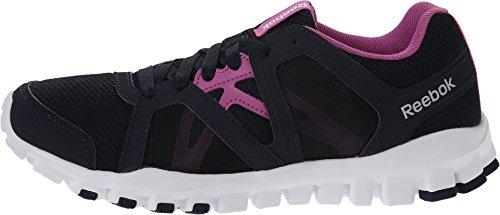 White RS Reebok Indigo Train Berry Faux Realflex Shoe 2 Womens 5 0 Running q7URnqrwAH