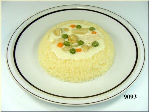 ERRO Reisrand mit Ragout Lebensmittelnachbildung - Food Model, Imitation