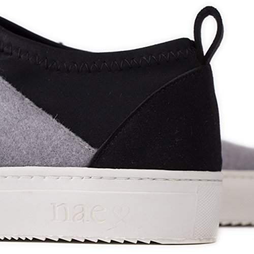 Vegan Sneakers Grau NAE Pet Re Bq1SaS