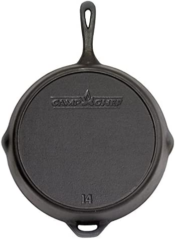 Camp Chef 1434 Seasoned Cast Iron Skillet