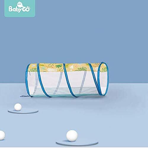 LITI Tiendas De Campaña para Niños con Tunel Infantil Y Piscina De Bolas, Pop Up Tienda De Juegos Plegable para Niños, Niñas, Bebés Y Niños Pequeños para Interiores Y Exteriores
