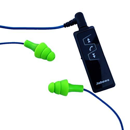 Bluetooth Workinbuds Green/Blue - Earplug Earphones With Wireless Adapter (Bundle)