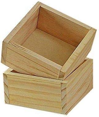 Depory - Caja Rectangular de Madera para Maquillaje, Organizador ...