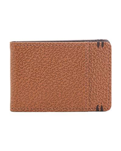 (Lodis Accessories Men's RFID Under Lock & Key Bi-Fold Money Clip Chestnut)